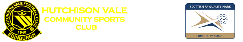 Hutchison Vale Community Sports Club Logo