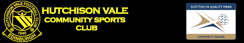 Hutchison Vale Community Sports Club Logo
